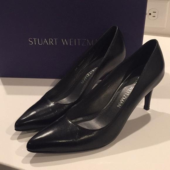 Stuart Weitzman Schuhes Worn   Worn Schuhes Once Tessa Heels   Poshmark ad4c4b